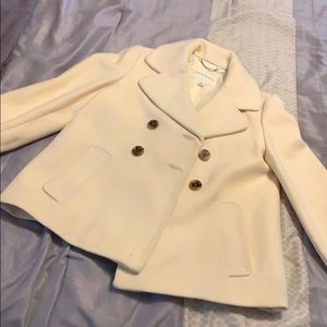 Banana Republic Cream Coat